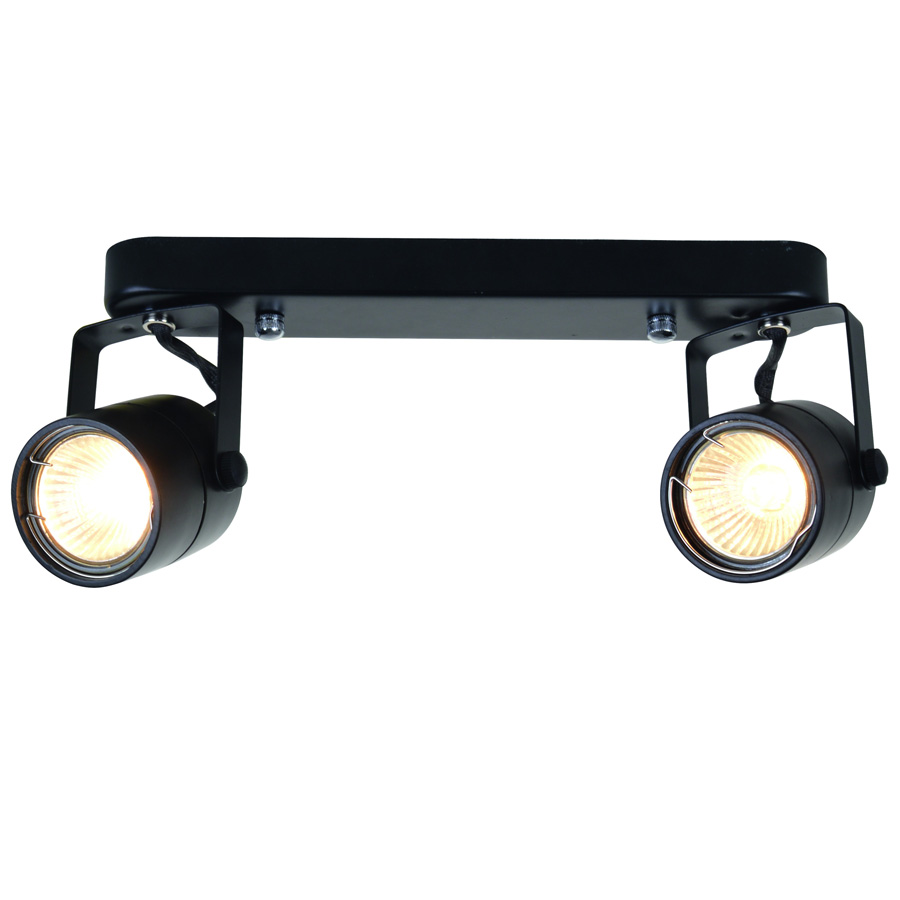 Спот Arte Lamp A1310PL-2BK Look All