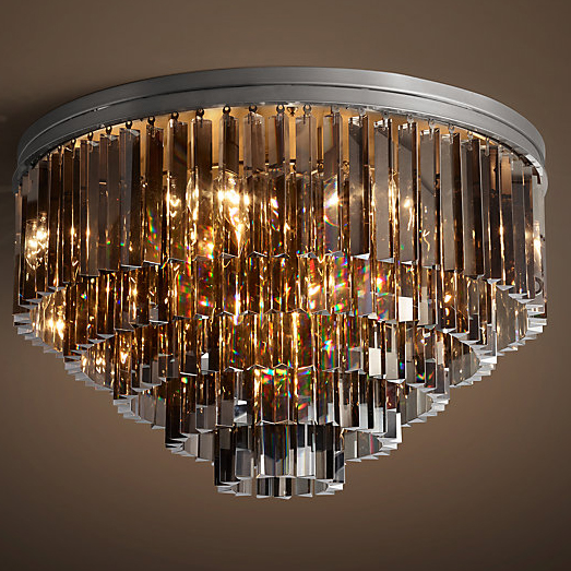 Светильник BLS 30490 1920s Odeon Glass Fringe Chandelier