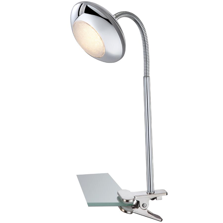 Настольная лампа на струбцине 117 LED, с регулировкой