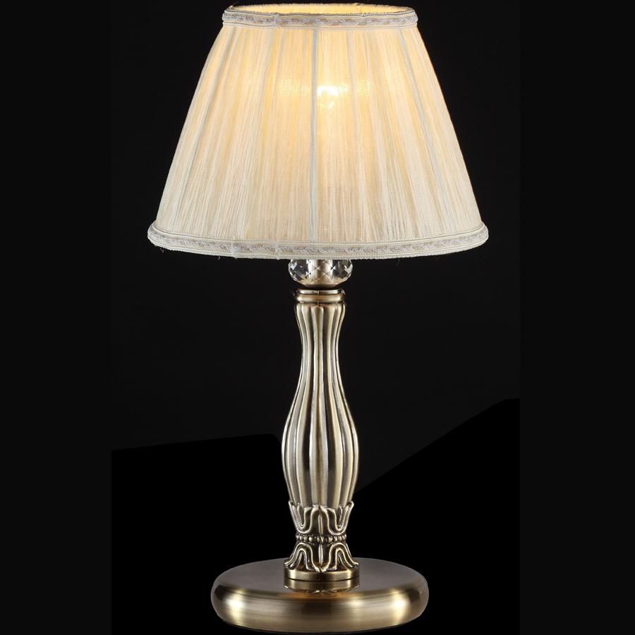 Настольная лампа для спальни с абажуром